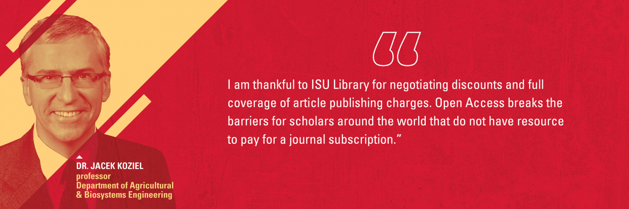 Learn how our scholars are publishing OA with the support of the ISU Library